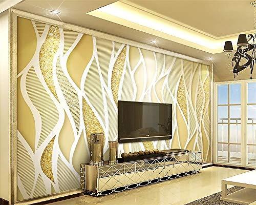 Papier Peint Photo 3D Elephant Stéréo Grand Salon Mural Tv ...