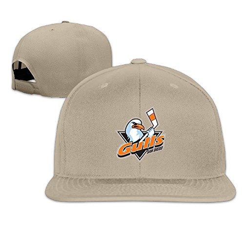 hittings-adult-san-diego-gulls-fantastic-snapback-adjustable-hats-natural