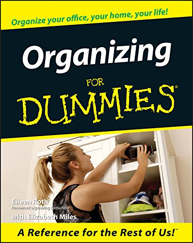 Organizing For Dummies (For Dummies Series) (English Edition)
