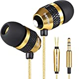 Betron B-25 Noise Isolating in Ear Canal Headphones Earphones with Pure Sound