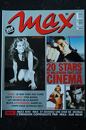 MAX 091 STARS HOLLYWOOD CAMERON DIAZ JULIA ROBERTS PATRICIA ARQUETTE TYRA BANKS