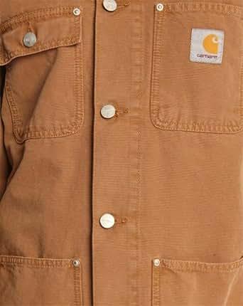 Carhartt - Manteaux et blousons - Homme - Veste de travail marron Michigan Coat - S