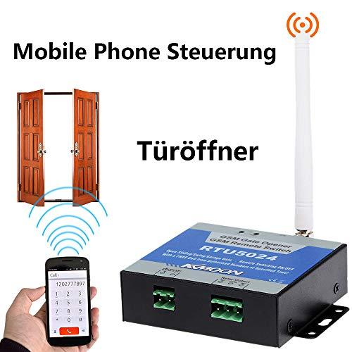 KKmoon GSM Türöffner Door Opener Ein-/Ausschalter Call SMS Gratis Steuerung 850/900/1800/1900 MHz