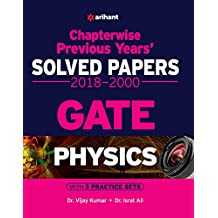 Chapterwise Solved Papers Physics GATE 2019