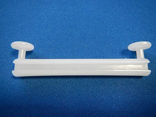 """""""Dekohaken24"""" – Schlaufengleiter, 28 Stück. , für 5 cm Schlaufen, zum Dekorieren von Schlaufenschals / Schlaufenvörhängen an einer Gardinenstange oder Gardinenschiene"""