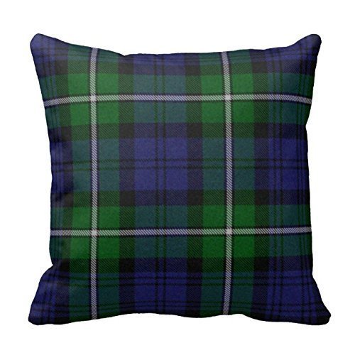 personalized-18x1inch-square-cotton-pillowcases-traditional-forbes-tartan-plaid-pillow-cover
