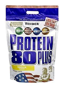 Weider 80 Plus Protein, Vanille (1 x 2 kg)