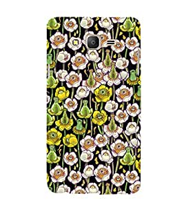 Flowes in Pond Floral 3D Hard Polycarbonate Designer Back Case Cover for Samsung Galaxy On7 :: Samsung Galaxy On 7 G600FY