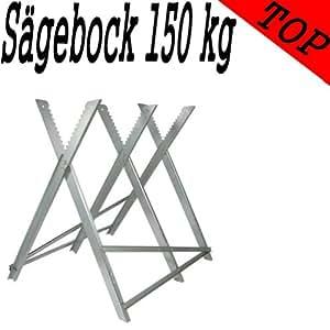 Sägebock verzinkt 150 kg für Kettensägen