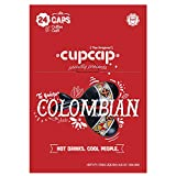 Keurig Compatible Cup Cap Colombian Coffee Pods for K-Cup Machines