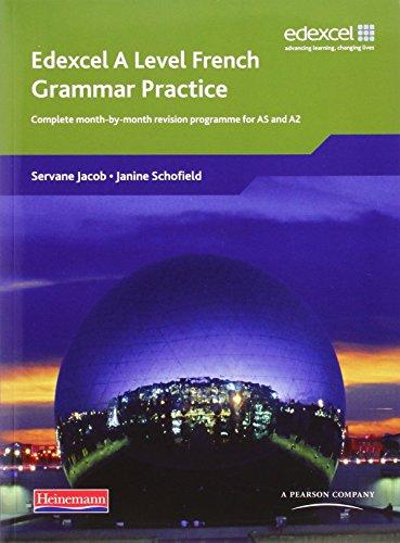 Edexcel A Level French Grammar Practice Book