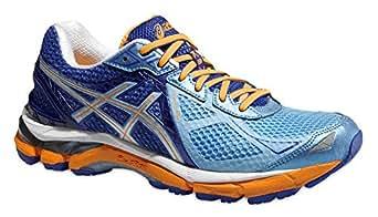 ASICS Femme GT-Largeur 200032A (étroit)/t553N 4193Pantalon de course stabilité chaussures Blue/Flash Yellow/Deep Blue (US 6)