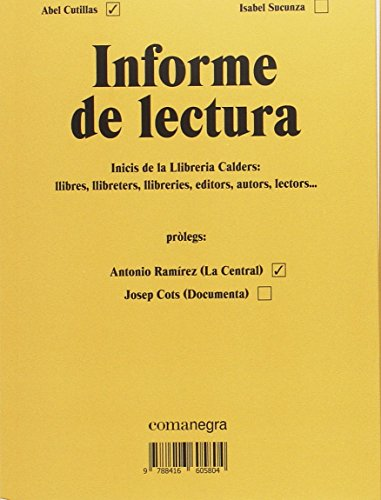 Informe De Lectura por Abel Cutillas Alberich