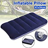 Tatero Soft Comfertable Air Pillow for Special Design Inflatable Flocked Velvet Camping Sleeping