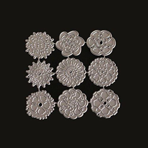 Kalttoy Metall Stahl Schneiden Prägestempel Kit Für DIY Einladung Scrapbook Album Handwerk (Diy Einladung Kits)