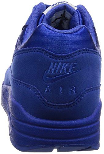 Nike - Basket Air Max 1 Premium 875844 - 400 Bleu Bleu