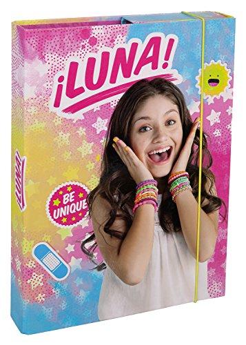 Undercover SORN0940 - Heftbox A4 Disney Soy Luna