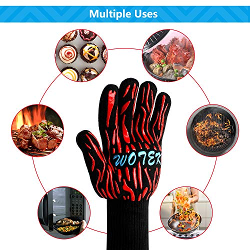 Zoom IMG-3 wotek guanti da barbecue resistenti