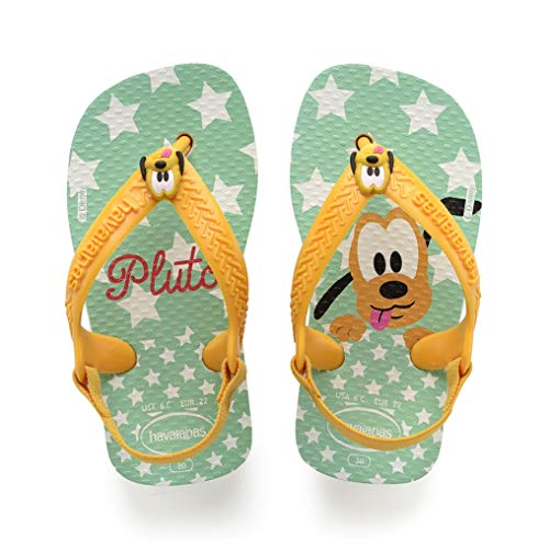 Havaianas Unisex Baby Disney Classics Ii Flip Flops