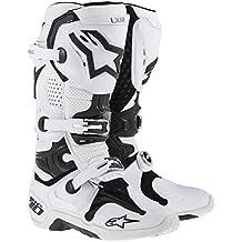Mx Boot Alpinestars 2014 Tech Ten Bianco (Eu 44.5 / Us 10 , Bianco)