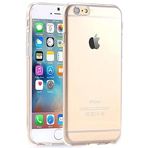 wortek Designer High Quality Crystal Hard - Case für Apple iPhone 6 & iPhone 6S Schutz Hülle Hard Cover Tasche (transparent) (iPhone 6 / S - 4,7