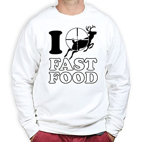 Ich liebe Fast Food - Deer Hunting Pullover