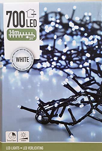 Preisvergleich Produktbild 700 LED kaltweiß Lichterkette Weihnachtsbaumbeleuchtung NEU