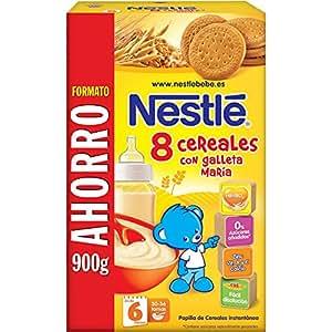 Nestlé - Bouillie 8 Céréales avec Biscuit Maria Nestlé 900 gr 6m+ - 12154584 - 1607683