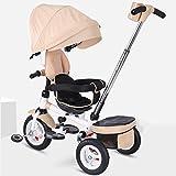 ed18ce1ce Elegante asiento giratorio portátil para niños Triciclo, 6 meses y 5 años  de edad Carro
