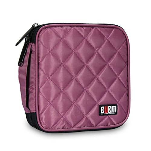 bubm-portable-water-resistant-32-disc-cd-dvd-vcd-dj-storage-media-holder-case-with-carry-handle-viol