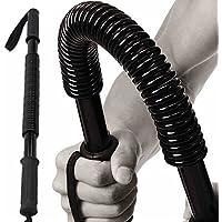 Woopower Power Twister - Expansor de pecho flexible para ejercicios de hombro, brazos y pecho, 20 kg de fuerza para ejercitar la muñeca