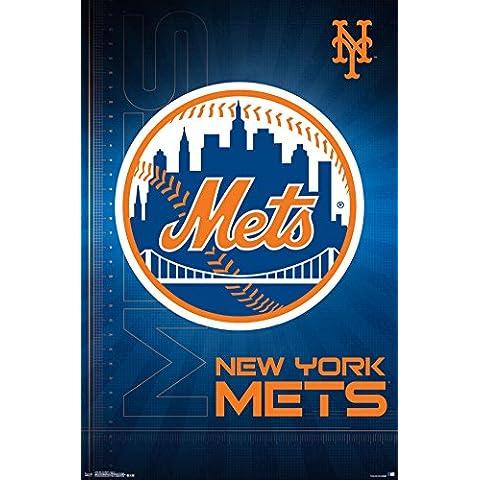 NEW YORK Mets Logo;–16poster (55,88x