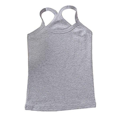 Shiningup Baby Boy Girl Underwear Vest Summer Undershirt Kid Children Tops for 2-6 Years Old