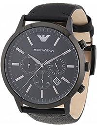 Emporio Armani Herren Armani AR2461 Chronograph Uhr, Schwarz, One size