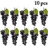 Justdolife Artificiale UVA Decorativa Frutta Finta Decorazione da Tavola Ornamenti Appesi