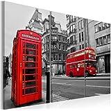 FORMATO GRANDE + Impresion en calidad fotografica + 3 partes + Londres + cuadro 030217-1 + 120x80 cm +++ GRAN VARIEDAD DE CUADROS Y IMPRESOS ARTÍSTICOS EN NUESTRA TIENDA VIRTUAL +++