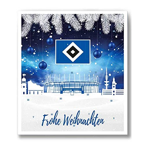 Fan-Shop Sweets Hamburger SV HSV Premium Adventskalender 2019 (one Size, Multi)