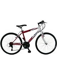 Bugno Bicicleta Acero Btt Blanco / Rojo