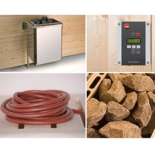 Saunaofenset 5 - 7,5 KW BioS mit Ofenanschlußkabel