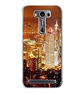 ifasho Designer Back Case Cover for Asus Zenfone Selfie ZD551KL (Cities Santiago Chile Brahmapur)