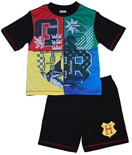 Harry Potter Gryffindor - Pijama Dos Piezas - para niño Negro Black/M