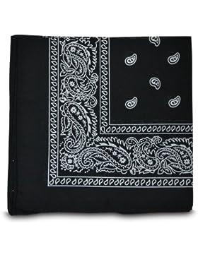 Shukan Fashions - Pañuelo para la cabeza - para mujer Negro negro