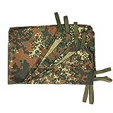 G8DS® BW Mehrzweckplane tarp flecktarn bushcraft camping trekking
