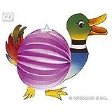 lively moments Animal farolas/ LAMPION/ Bola Panal Verde - azul pato