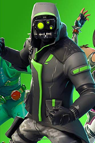 Fortnite - Archetype Team: 2019 Weekly Planner with Note Paper Section