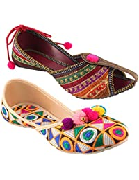 7f83cf8ba Womens Ethnic Footwear  Buy Womens Ethnic Footwear Online at Best ...