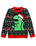 T-Rex Strickpulli Weihnachten