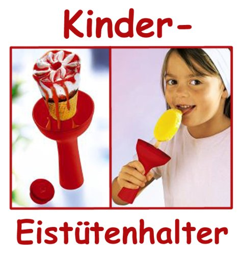 KINDER Eistütenhalter Tütenhalter Eiscremehalter Eisbehälter Eisform Eis a Stiel