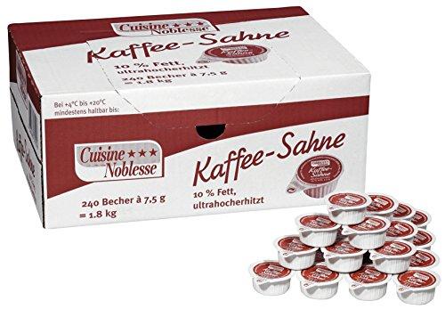 Cuisine Noblesse Kaffeesahne 10 prozent, 1er Pack (1 x 1.8 kg)