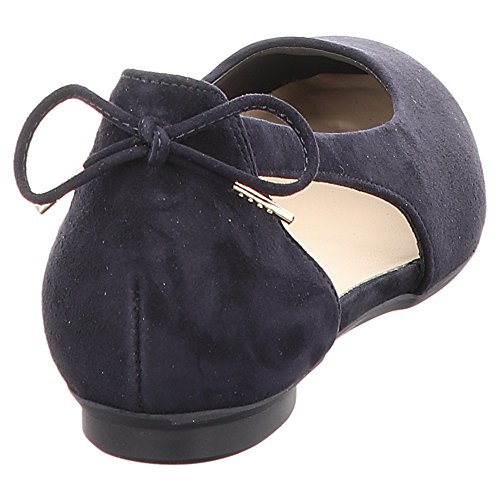 Paul Green 3553-019 Damen Ballerina Dunkelblau